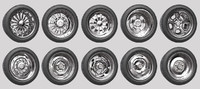 Car Wheels Rims Pack 2