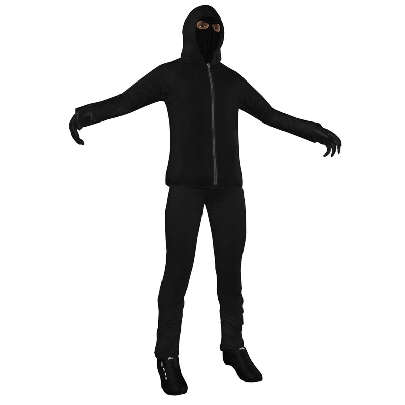 robber man obj
