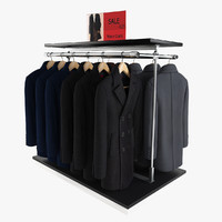 Men's Coats Rack 1
