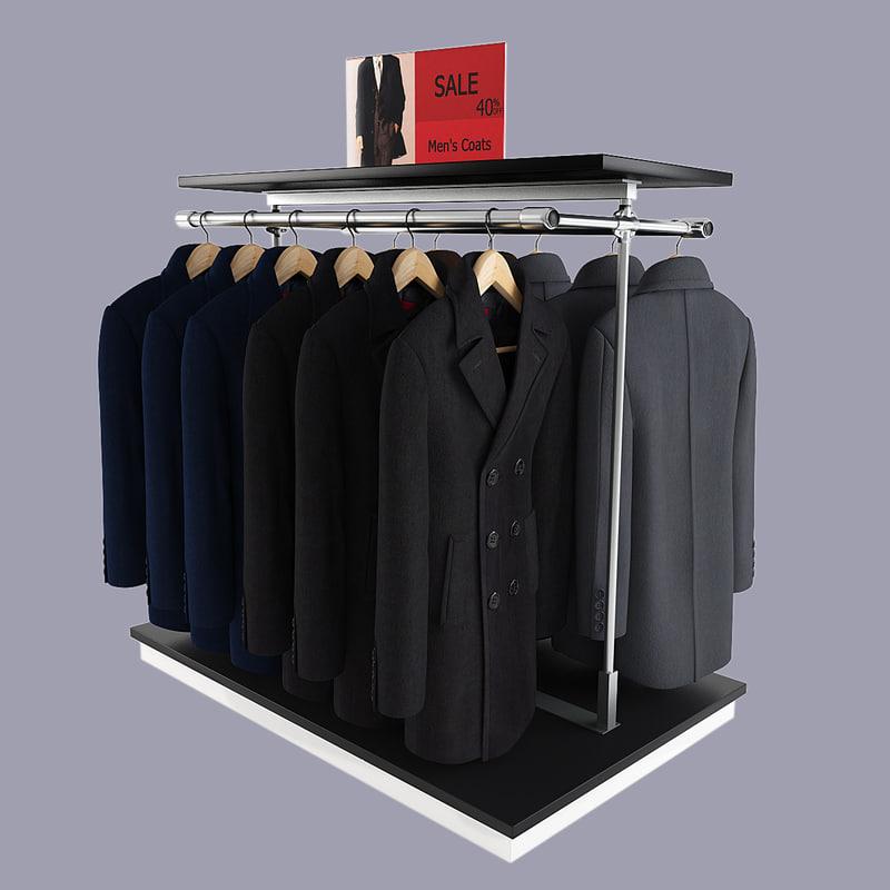 max men s coats rack