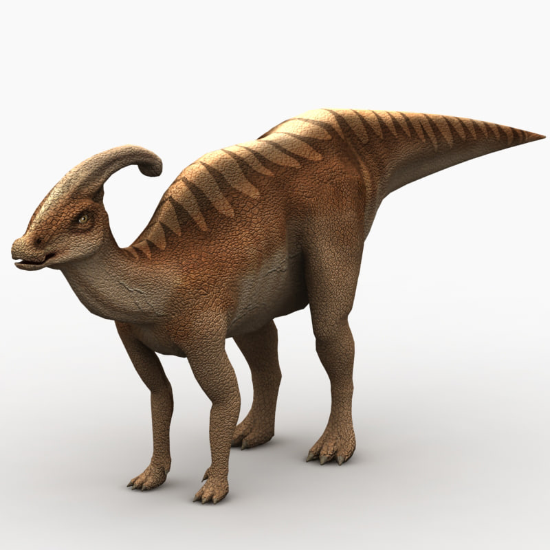 max parasaurolophus dinosaur animation