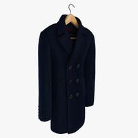 3d men s coat