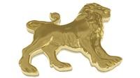 3d zodiac leo pendant