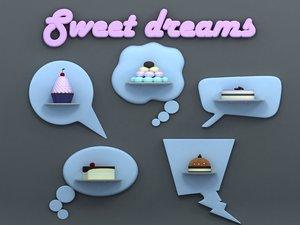 dreams 3d obj