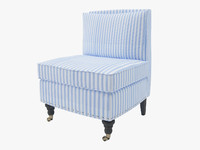 Safavieh Randy Light Blue Armchair