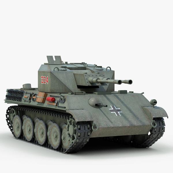3d model ww2 german v coelian