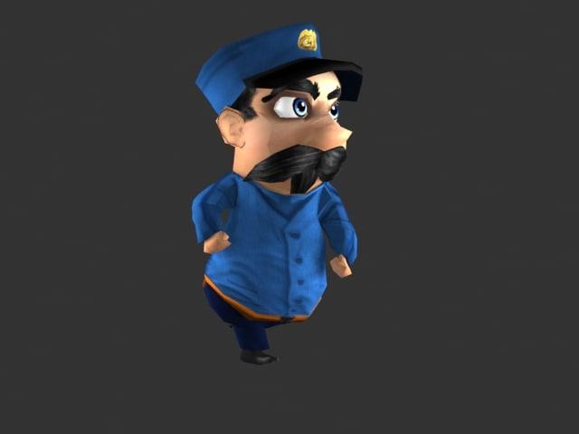 3d cop mobile