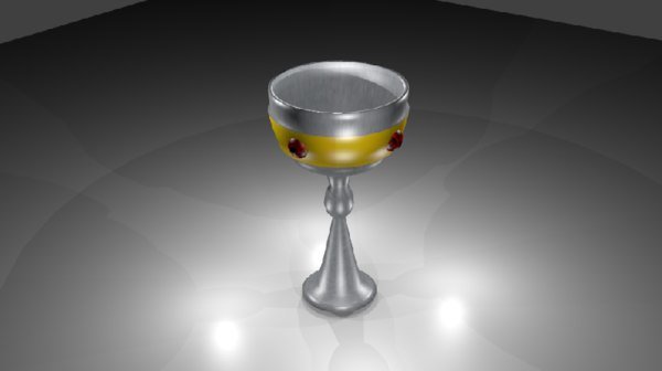 medieval chalice 3ds