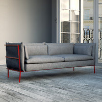 bouroullec basket sofa 3d model