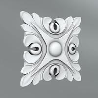 3d max classical decoration