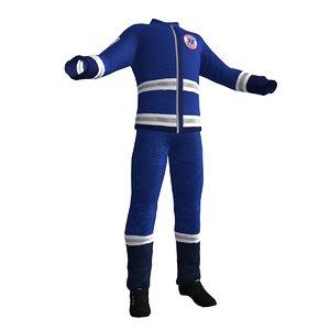 3d max paramedic uniform