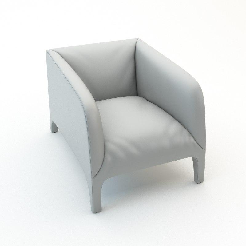 3d opale armchair