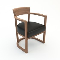 barchetta armchair 3d max