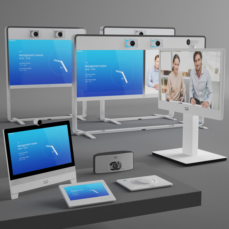 cisco videoconferencing video 3d max