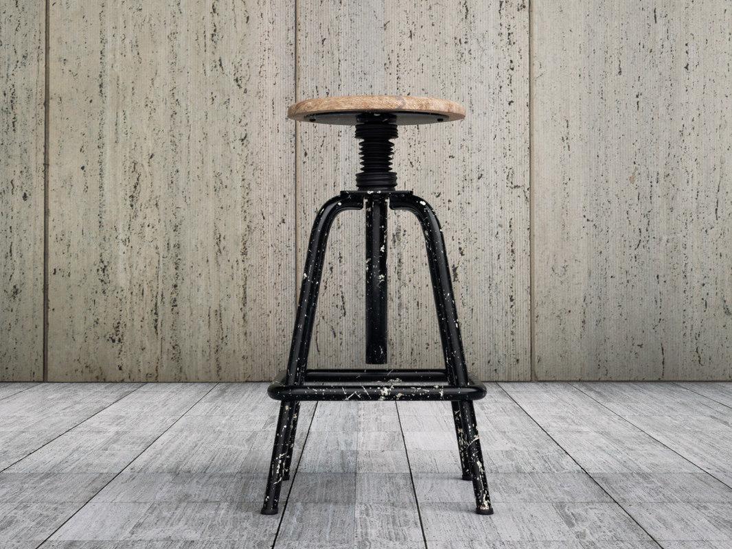 jean stool obj