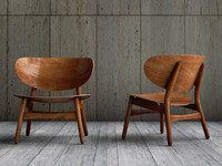 Hans Wegner settee chair