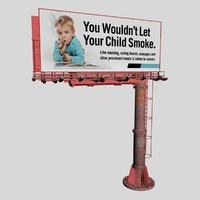 3d c4d billboard