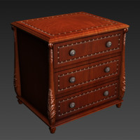 3d nightstand night model