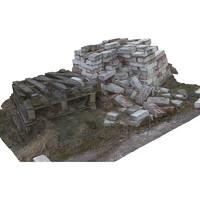 A heap of bricks