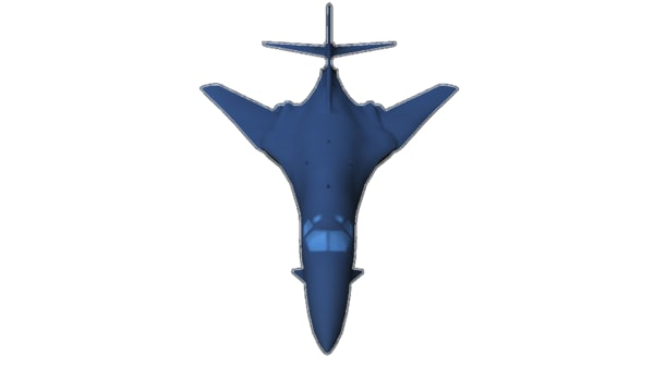 3d model lancer bomber
