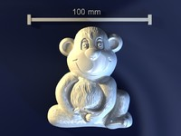 monkey mold hand max