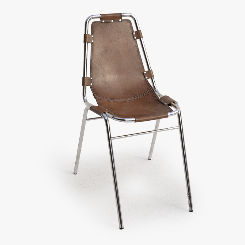 3d les arcs chair model