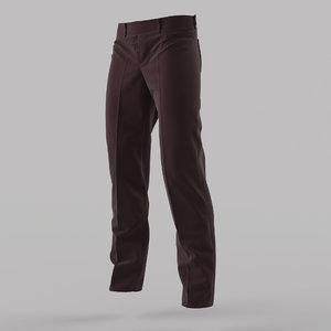 3d model trousers design marvelous