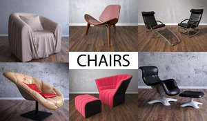 3d model chair furniture architecture