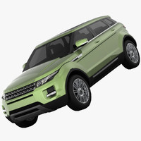 land rover range evoque 3ds