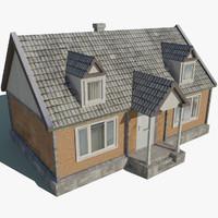 3d model family house games