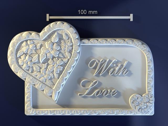 lover gift mold 3d model