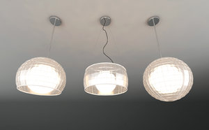 glass lamps 3ds
