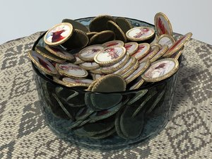 3d bowl russian chocolate