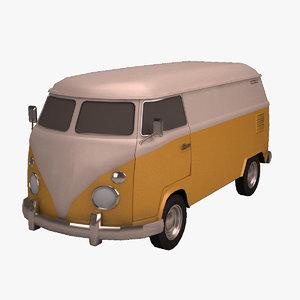 3d model standar van