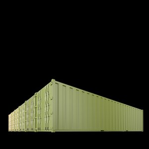 3ds max 40ft containers 4