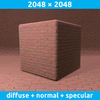 Clean brick wall texture