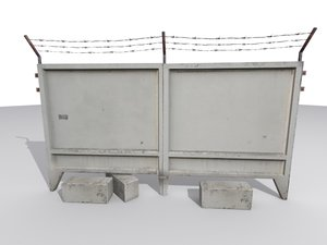 3ds max concrete restricted areas