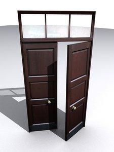 double door 3d model