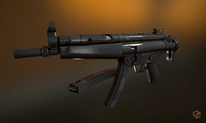 max mp5n submachine gun