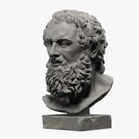 Atlas Head Sculpture