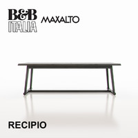 B&B Italia Maxalto Recipio Tables