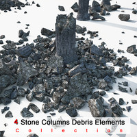 Stone Damaged Column Collection