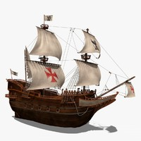 invictus ship 3d model