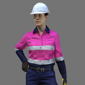 max rig safety female worker