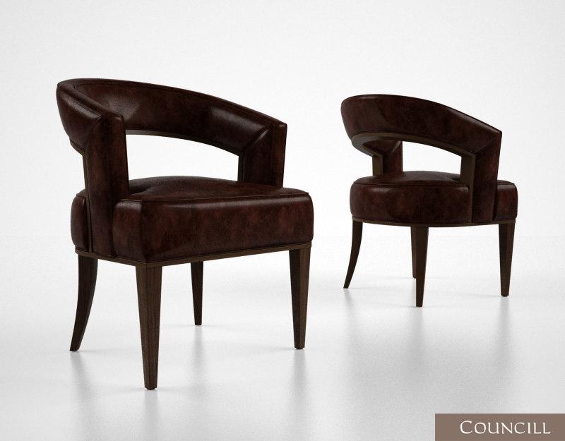 max councill palladian chair
