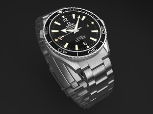 omega seamaster planet 3d max