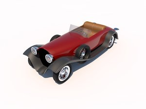 packard speedster luxurious 3d c4d