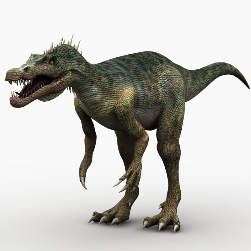 max baryonyx dinosaur animation