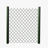parametric chain link fence