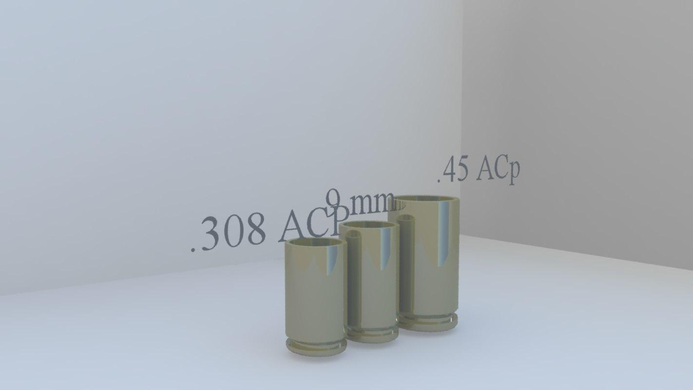 3d 45 acp 9mm 308